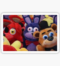 Colourful Soft Toys in Toy Grabber, Claw Sticker