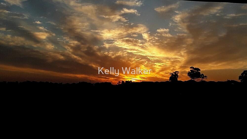 Sunset over Baldivis by Kelly Walker