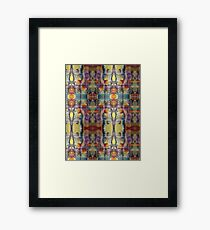 Abstract Watercolor Print Framed Print