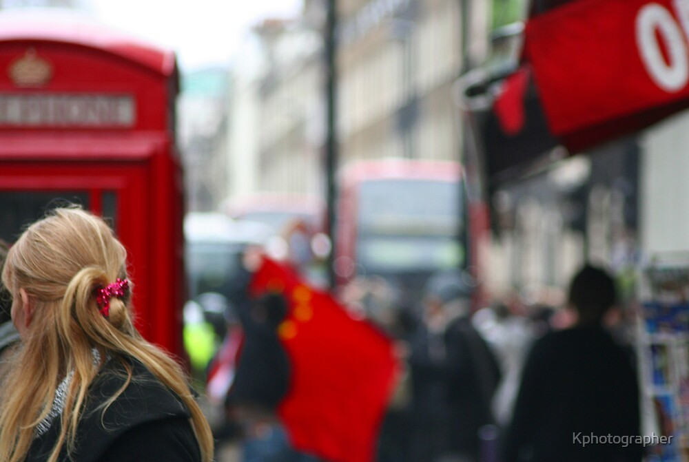 Torch Protests - London by Kphotographer