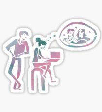 fangirl v1 Sticker