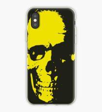 Old Skull - Vieille tête de mort iPhone Case
