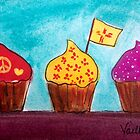 New Mexico Cupcakes by Vaillancourt
