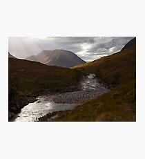 River Etive, Scotland Photographic Print