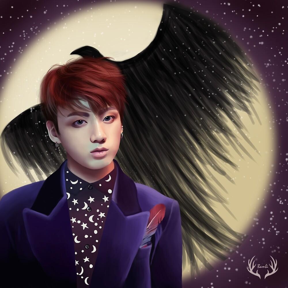 Jungkook Wings by Yunhosbambi