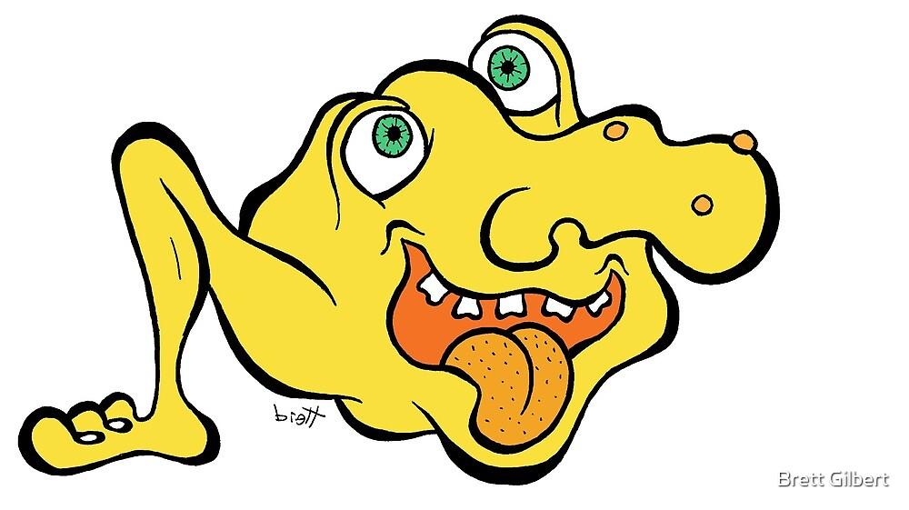 Monopod Blob Monster by Brett Gilbert