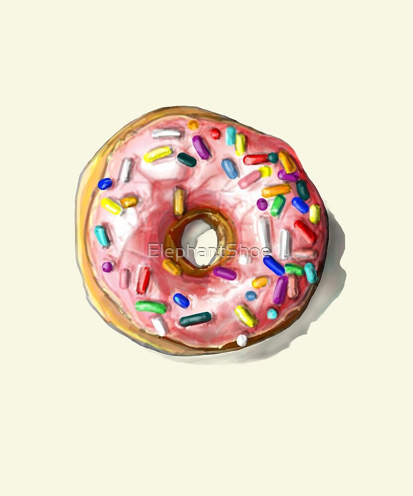 Another Generic Pink Donut with Sprinkles by ElephantShoe
