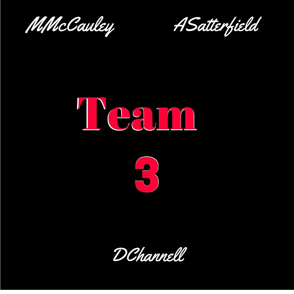 Team 3 by Team 3