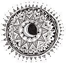 Moon Mandala by inkedinred