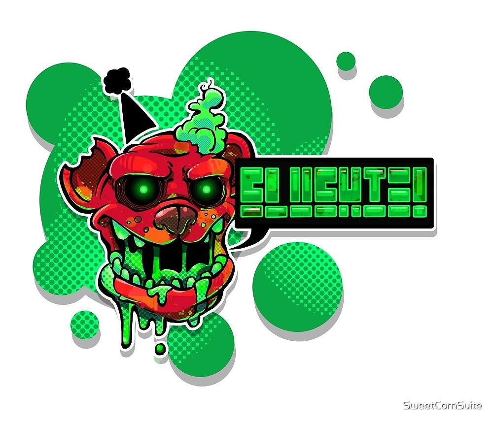 Slushie Bear - Green by SweetCornSuite