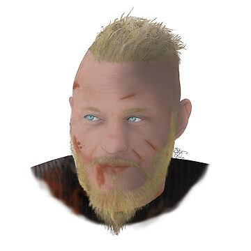 Ragnar Lothbrok by StephGhalien