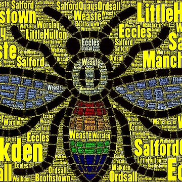 Salford Bee by MworldTee