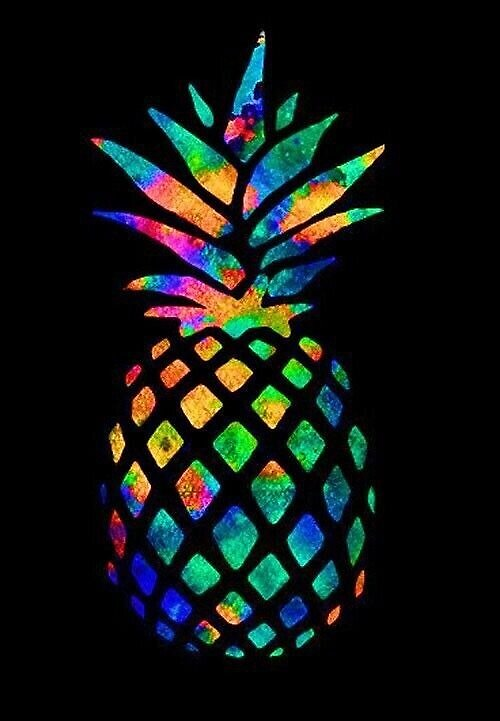 Colorful Pineapple by slavin32