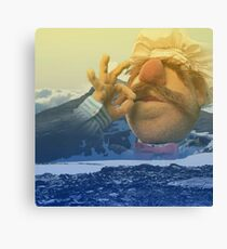 Swedish Chef Amongst the Foothills Canvas Print