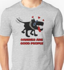 Canines Are Good People - Male Dog Unisex T-Shirt