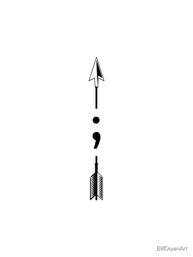 """""""semicolon 027"""" by BillOwenArt"""
