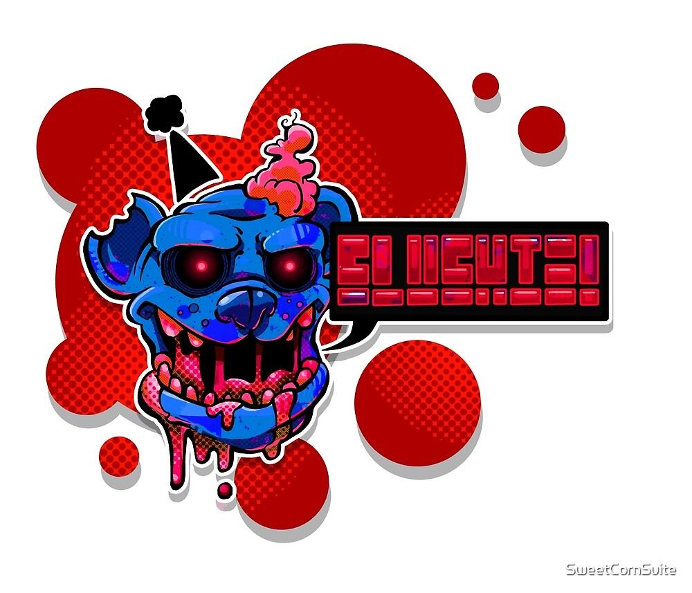 Slushie Bear - Red by SweetCornSuite