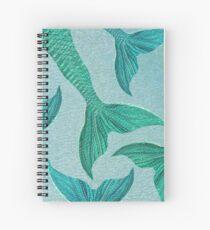 Sea of Mermaids Spiral Notebook