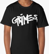 Grimes logo white Long T-Shirt