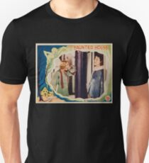 The Haunted House - vintage horror movie poster 1928 Unisex T-Shirt