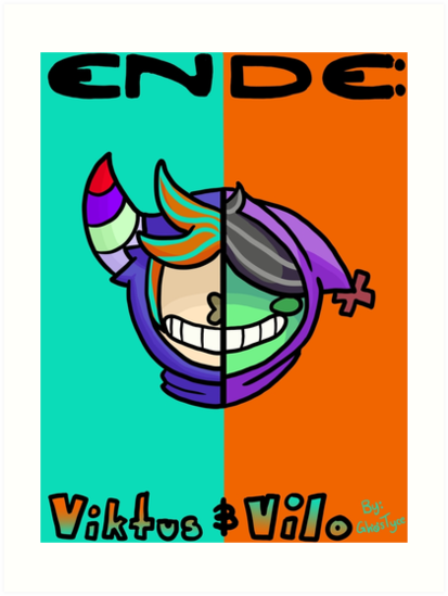 Ende: Viktus and Vilo by ghostyce