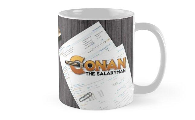 Conan's Desk - Right, Clean, QR Code by ConanSalaryman