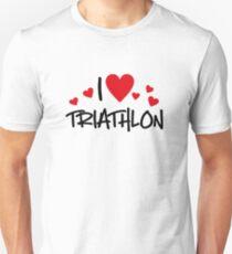 I love Triathlon Unisex T-Shirt