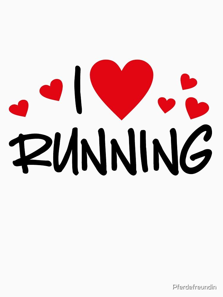 I love running by Pferdefreundin