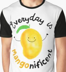 Everyday is Mango nificent - Punny Garden Graphic T-Shirt