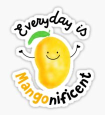 Everyday is Mango nificent - Punny Garden Sticker
