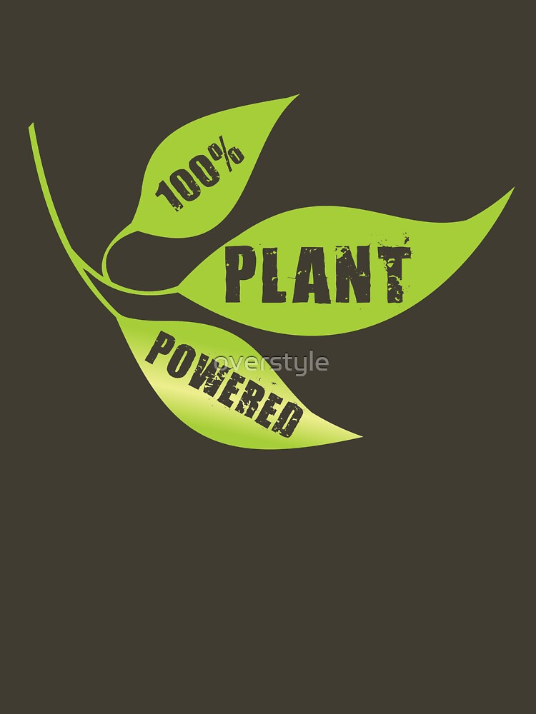 100% Plant Powered by overstyle
