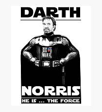 Darth Norris Photographic Print