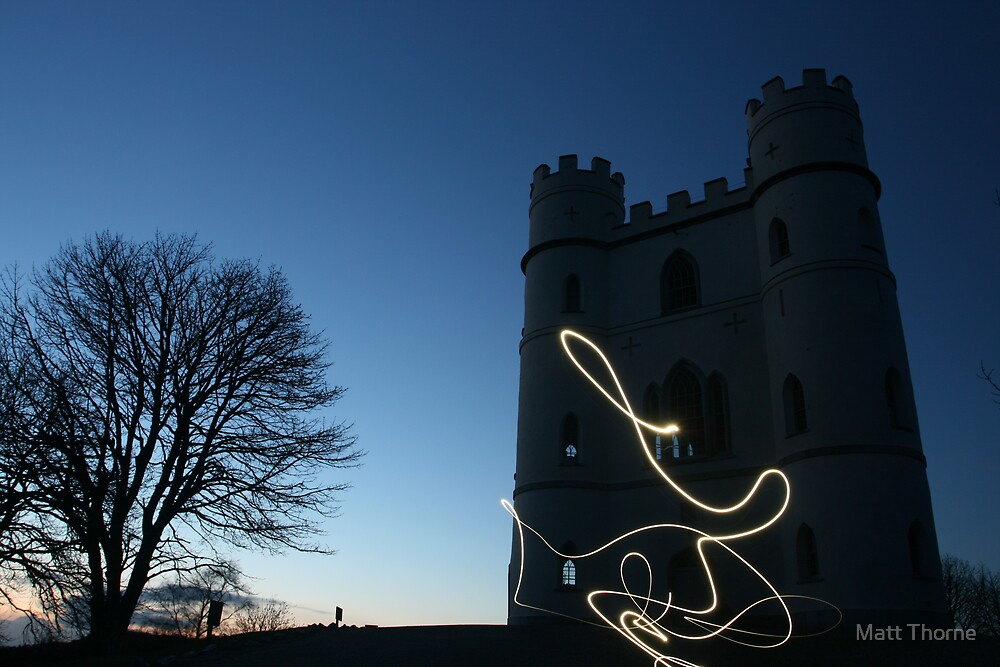 'Tower of Light' by Matt Thorne