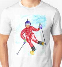 Skier Sport Unisex T-Shirt