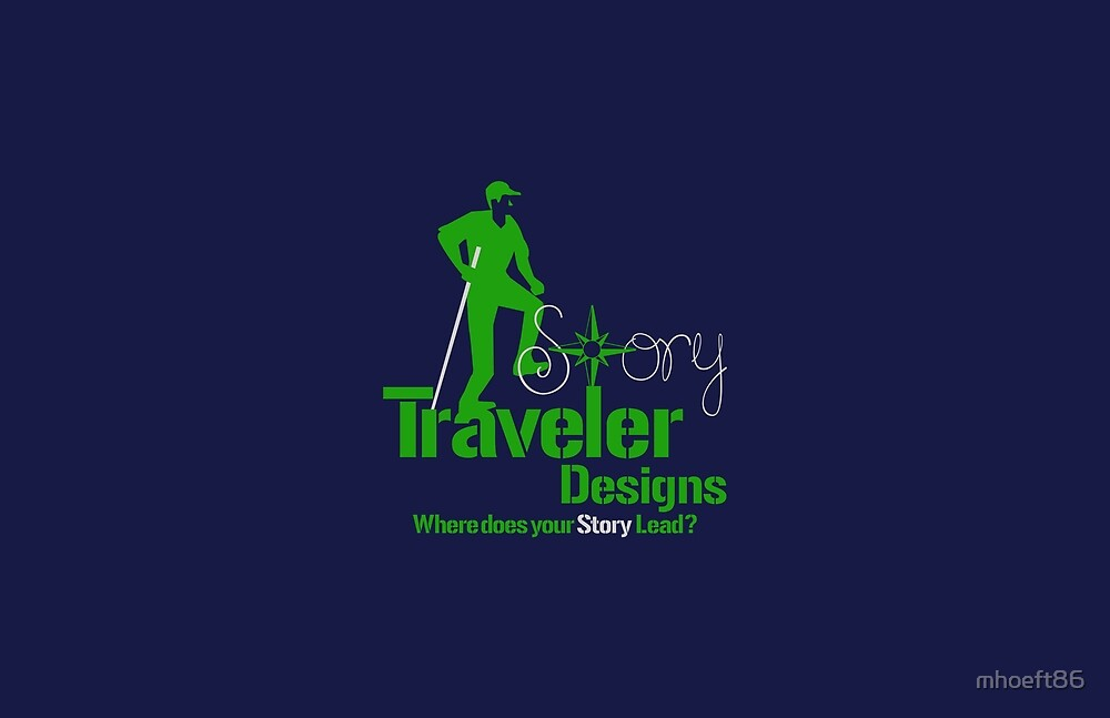 StoryTraveler Blue Merch by mhoeft86
