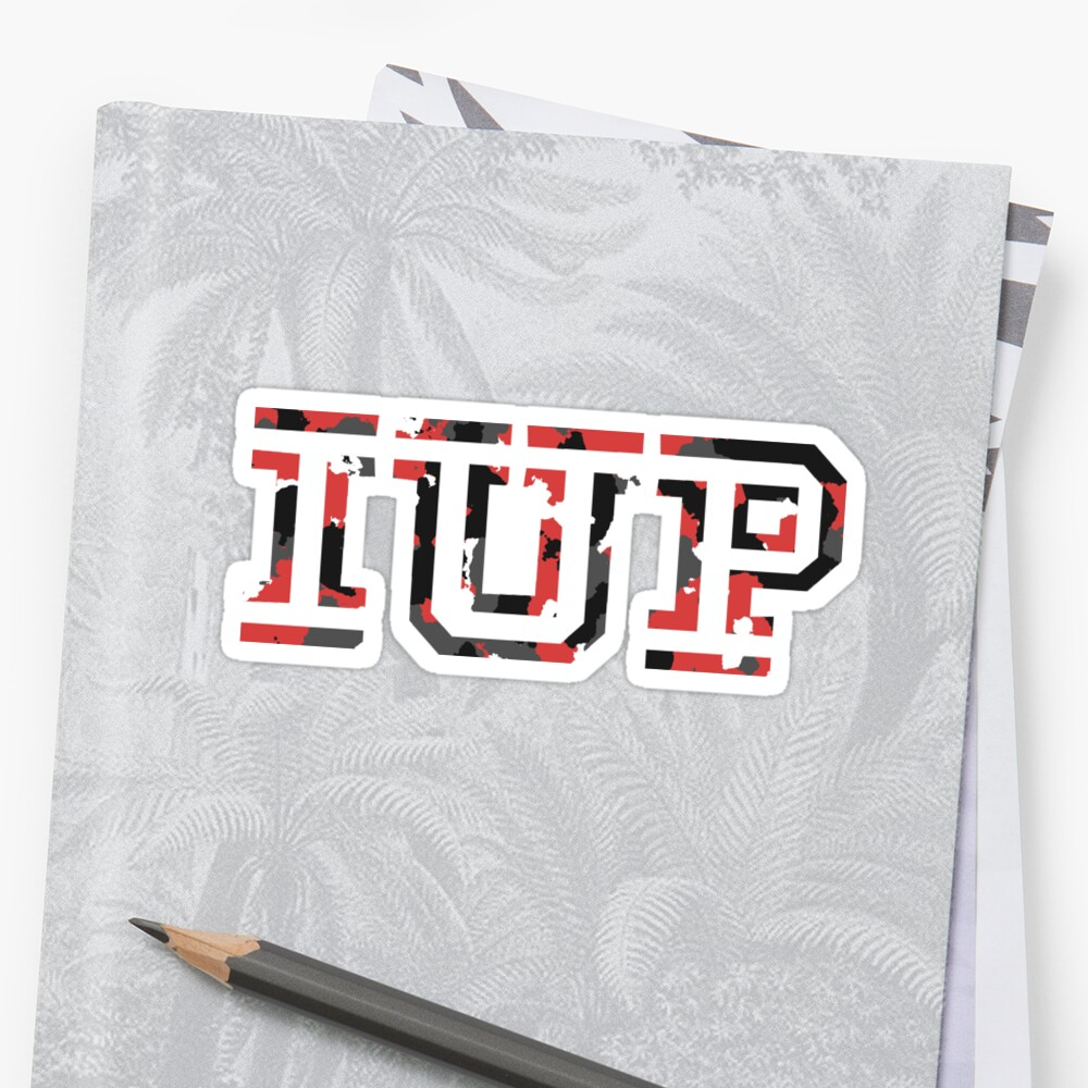 IUP Red Camo by vmpdoodles