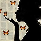 monarch by Loui  Jover