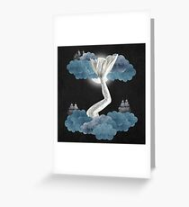 Oceanic Sky - The Mermaid Greeting Card