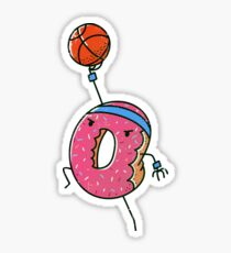 Dunking Donut Sticker