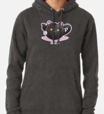 Cute Tea Pot Cat: Kittea Pullover Hoodie
