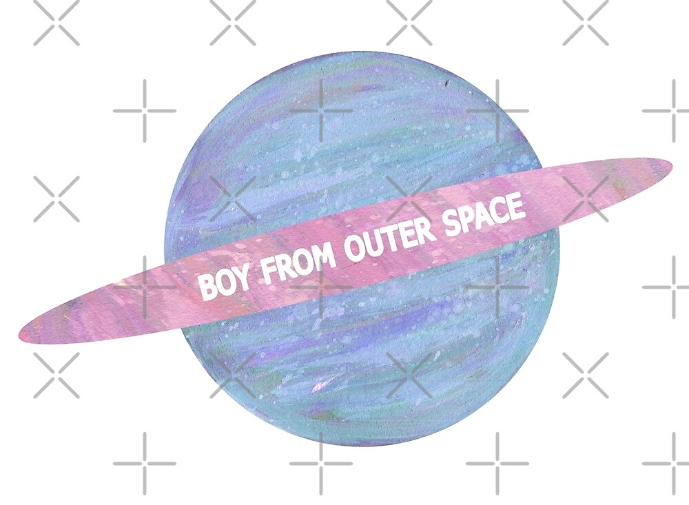 BOY FROM OUTER SPACE by Lyle O'Mara