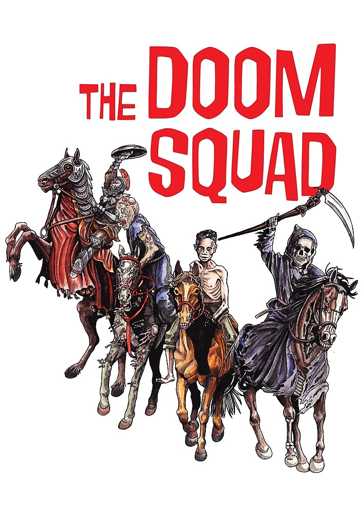 Doom Squad by meganpalmer