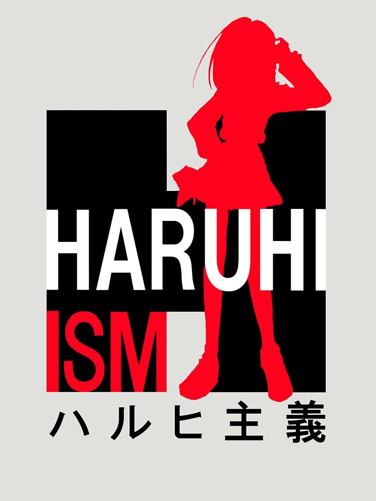Haruhi Inspired Anime Shirt by MaximizedGITS