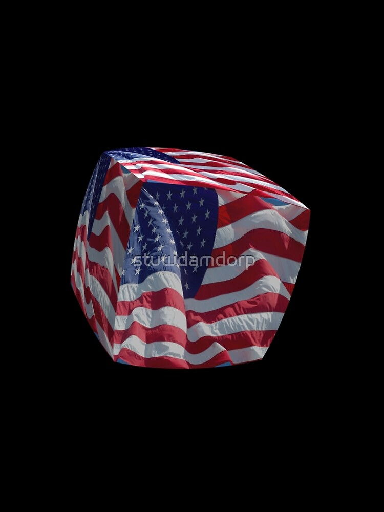 Stars and Stripes cubed. by stuwdamdorp