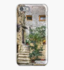 One of those lovely corners - in Trogir iPhone Case/Skin