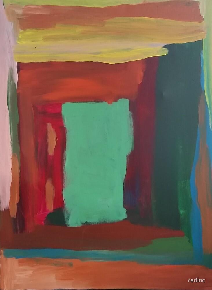 Artist: John Rose, Abstract, 2016 by redinc