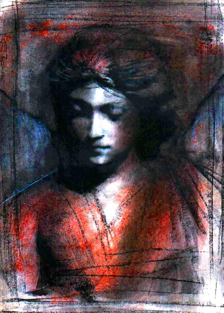 Angel study 3 by cliffwarner