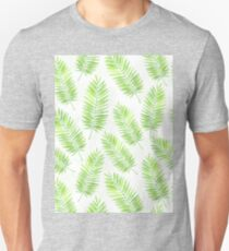 Palm leaves pattern Unisex T-Shirt