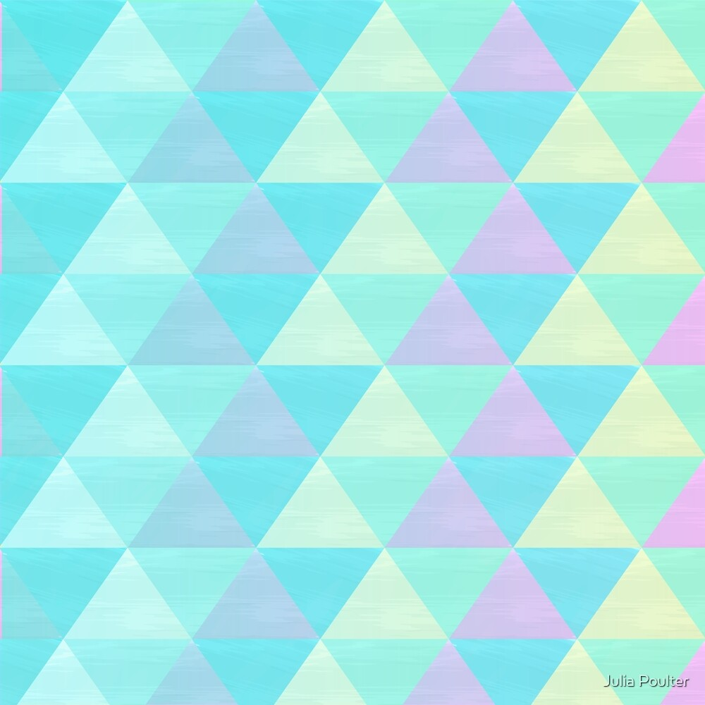 Triangle Pattern Repeat by Julia Poulter