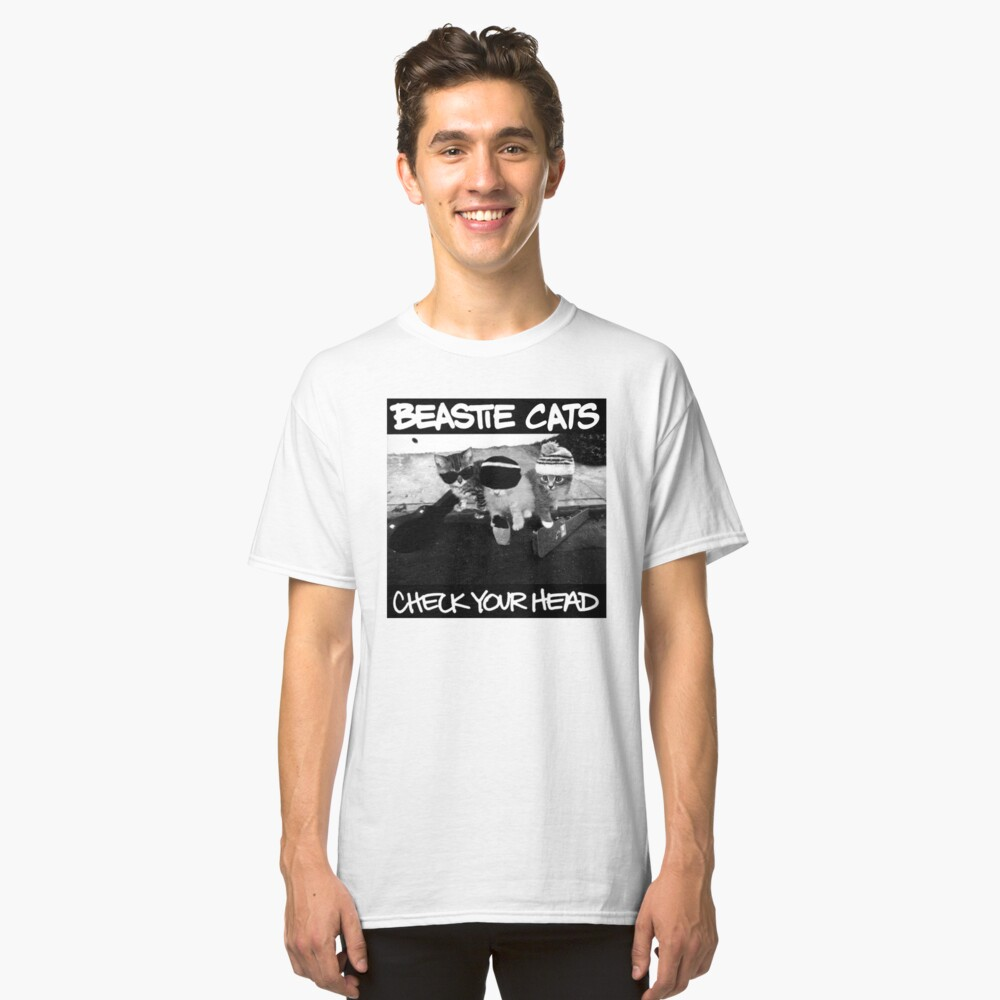 Beastie Boys Cats Classic T-Shirt Front